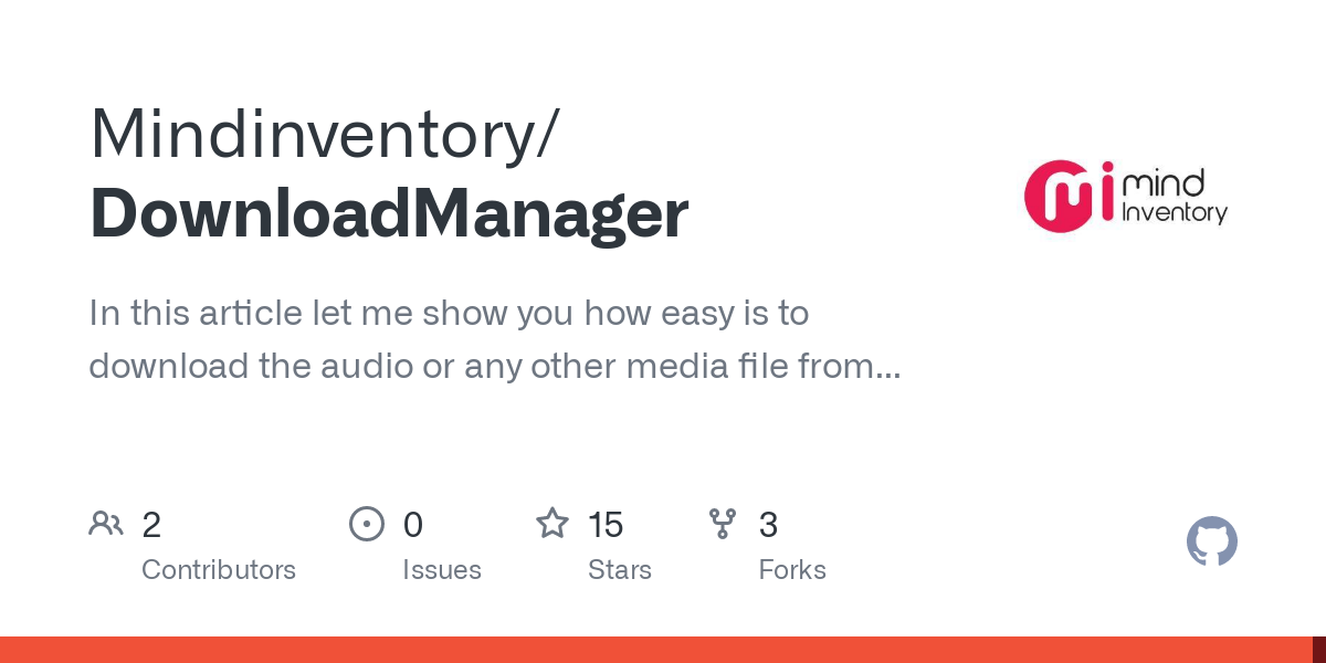Mindinventory/DownloadManager