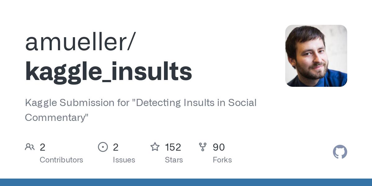 kaggle_insults/train.csv at master · amueller/kaggle_insults · GitHub