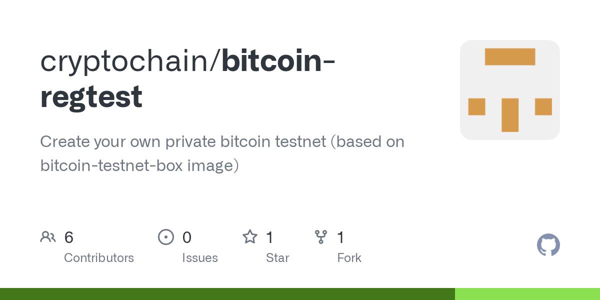 regtest bitcoin
