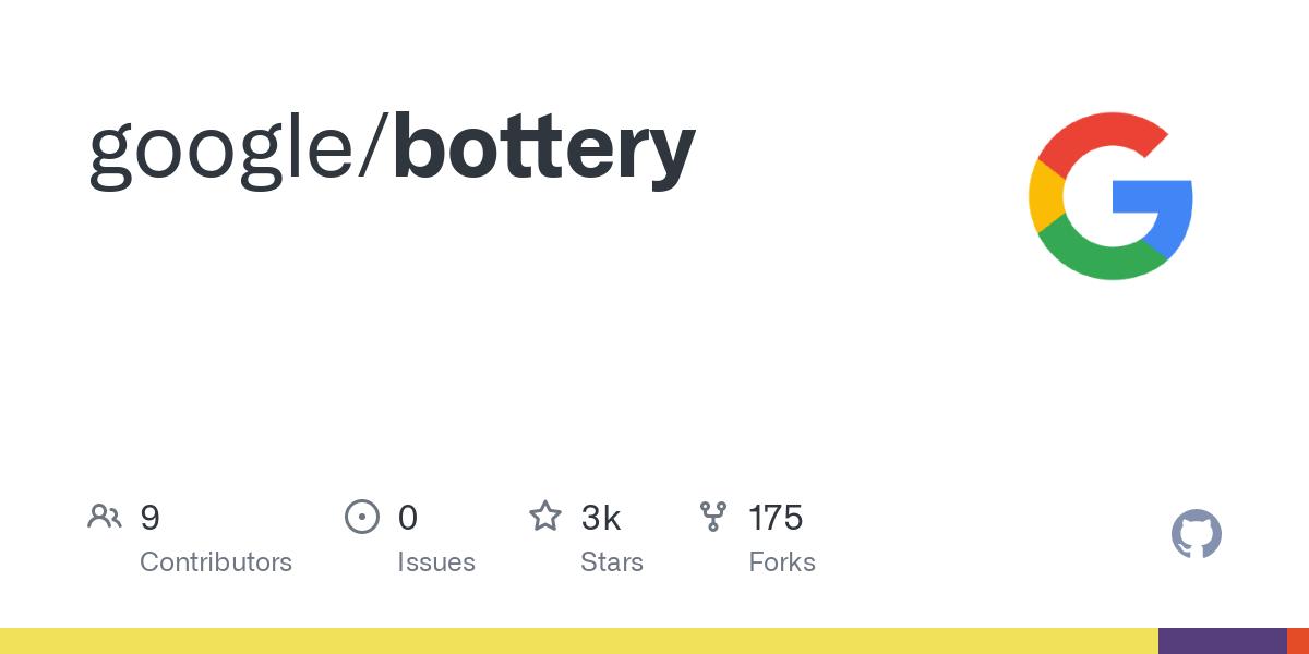 GitHub - google/bottery