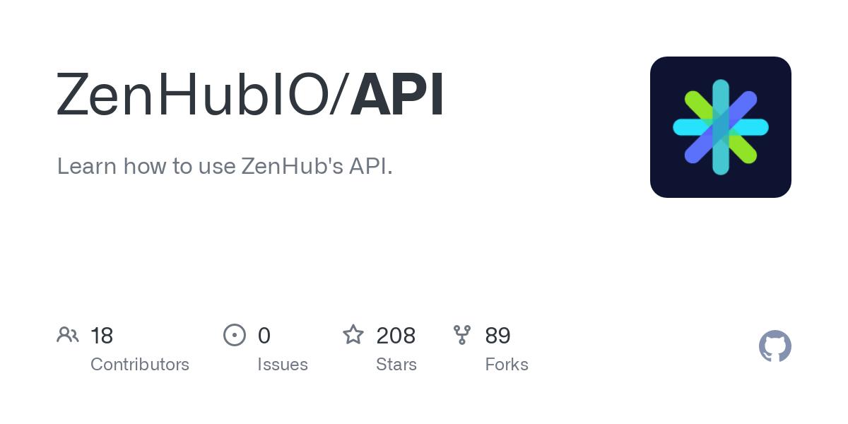 ZenHubIO/API