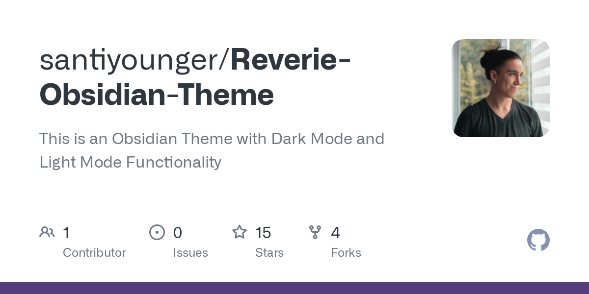 santiyounger/Reverie-Obsidian-Theme