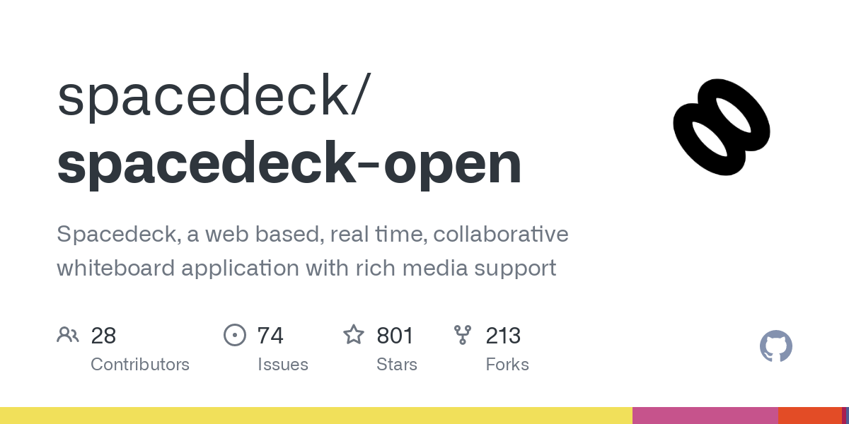 GitHub - spacedeck/spacedeck-open: Spacedeck, a web based, real time, collaborative whiteboard application with rich media support
