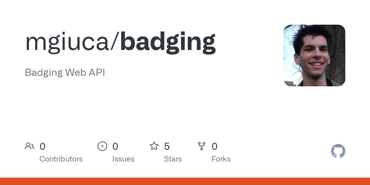 Badging API Explainer