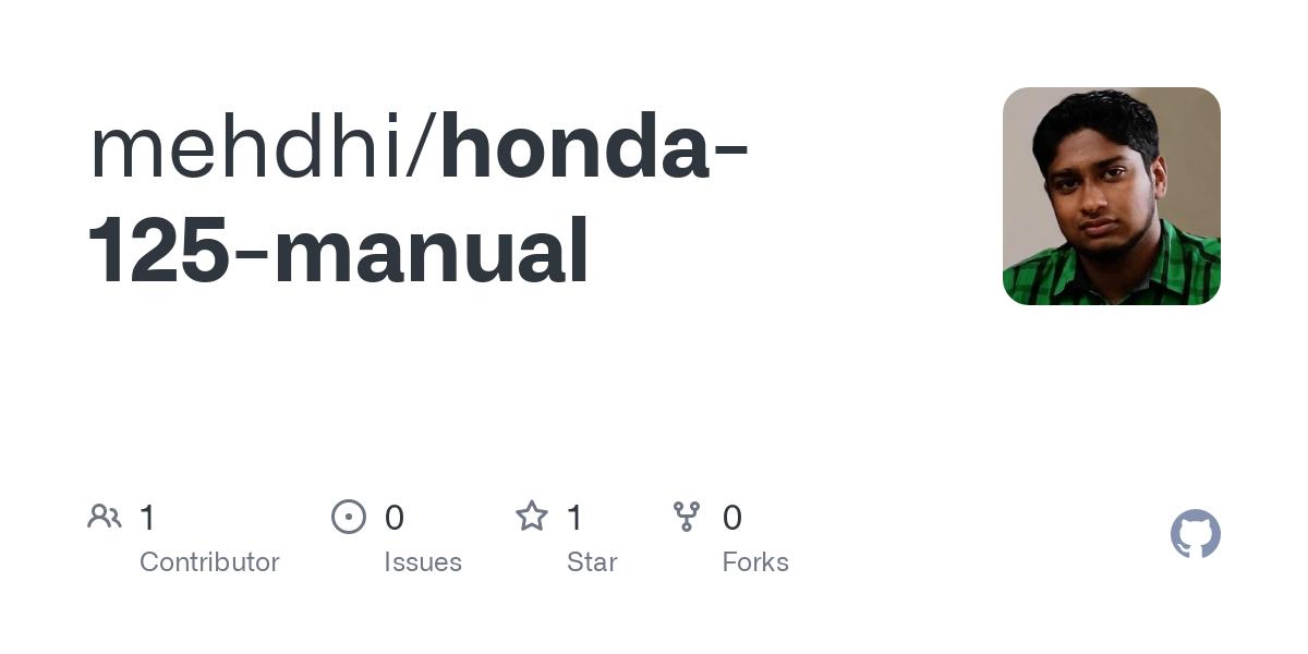 honda-125-manual/Honda 125 manual by Haynes.pdf at master  mehdhi ...