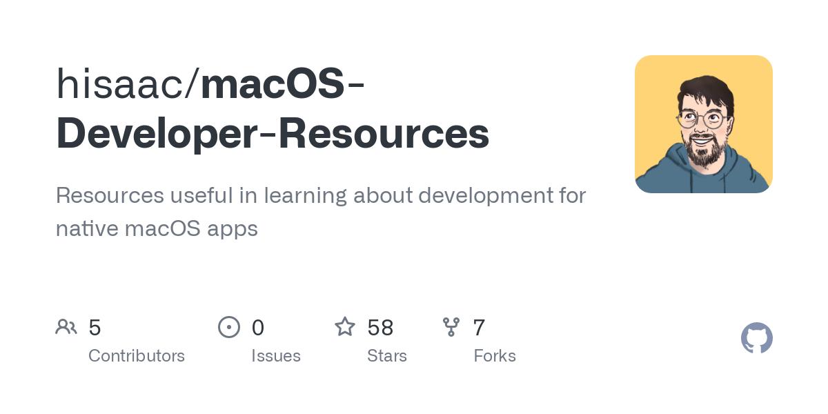 hisaac/macOS-Developer-Resources