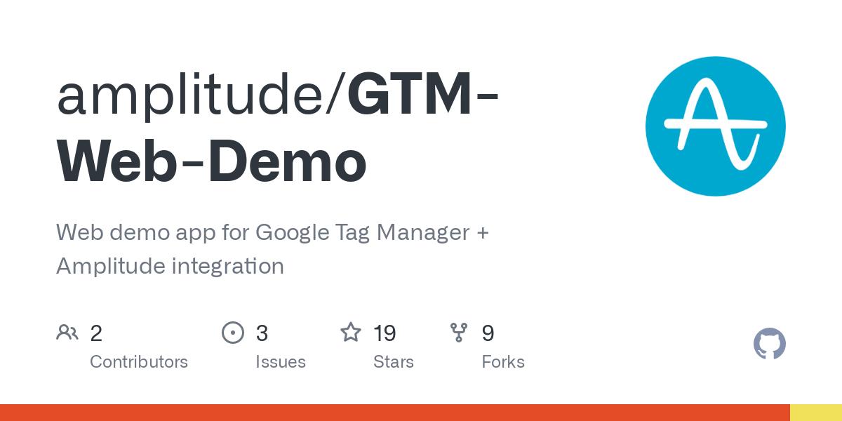 amplitude/GTM-Web-Demo